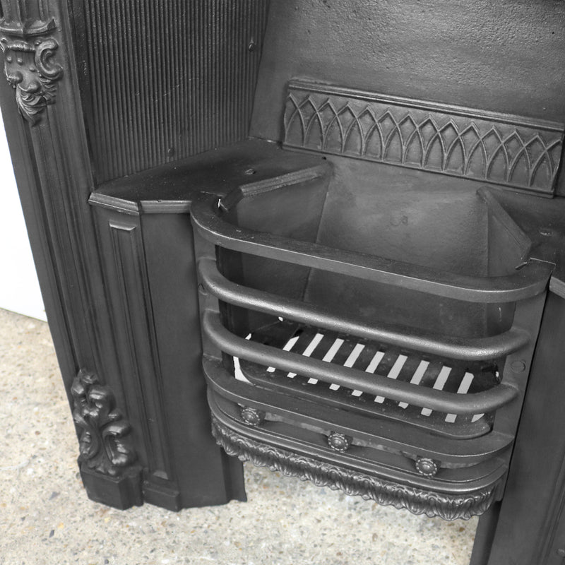 Georgian victorian fireplace