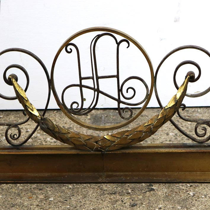 Antique Fireplace Fender - The Architectural Forum