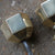 Solid Brass Hexagonal Door Handles (2 pairs available) - architectural-forum