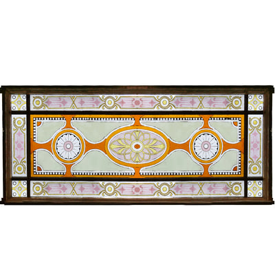 stained glass panel victorian