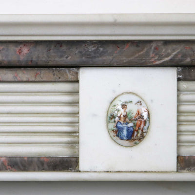 decorative antique fireplace