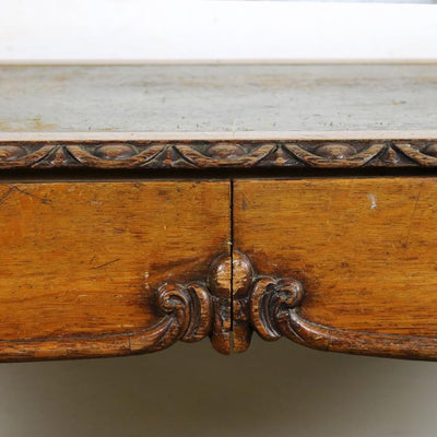Antique Oak Writing Desk - The Architectural Forum