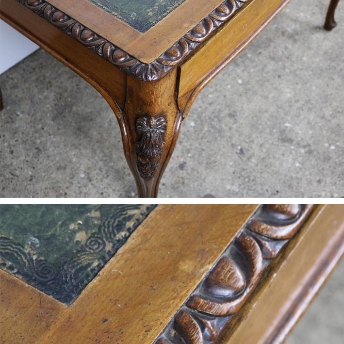 antique wood writing desk