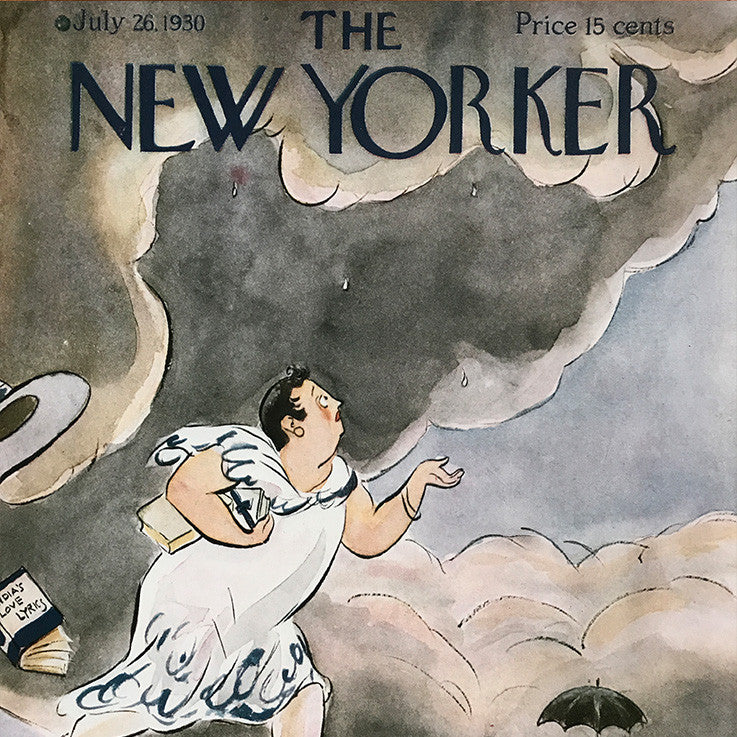 The New Yorker Cover Print July 1930