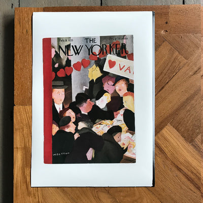 The New Yorker Cover Print February 1935