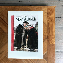 The New Yorker Cover Print June 1937