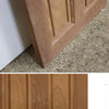 Reclaimed Mahogany Georgian Style Door - 196cm x 76.5cm - architectural-forum
