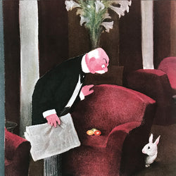 The New Yorker cover print created by W.Cotton March 28 1940