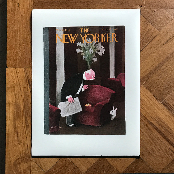 The New Yorker Cover Print March 1940