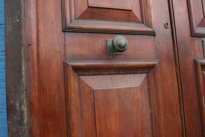 Antique Mahogany Glazed Doors - The Architectural Forum