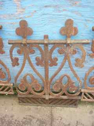 Antique fence