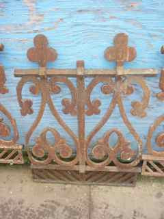 Antique Victorian Fencing - architectural-forum