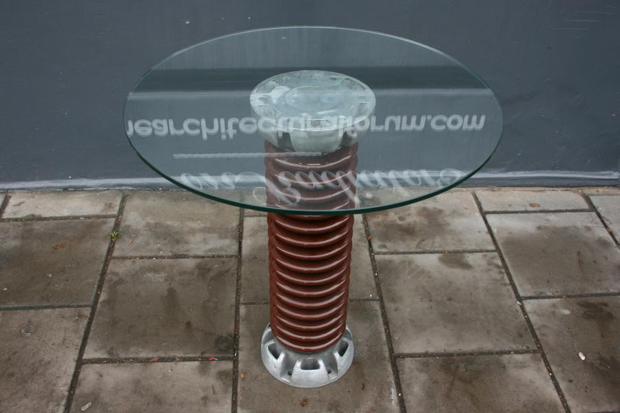 Ceramic Electrical Insulator Table - architectural-forum