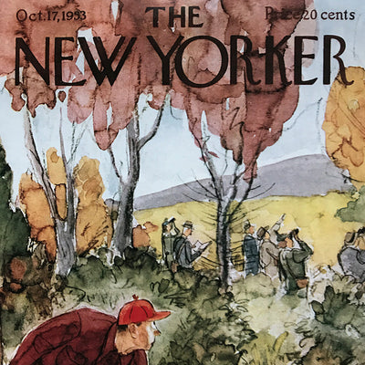 The New Yorker Cover Print October 1953