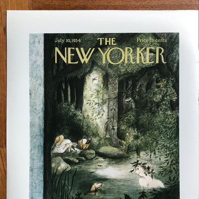 The New Yorker cover print created by Mary Patty July 10 1954