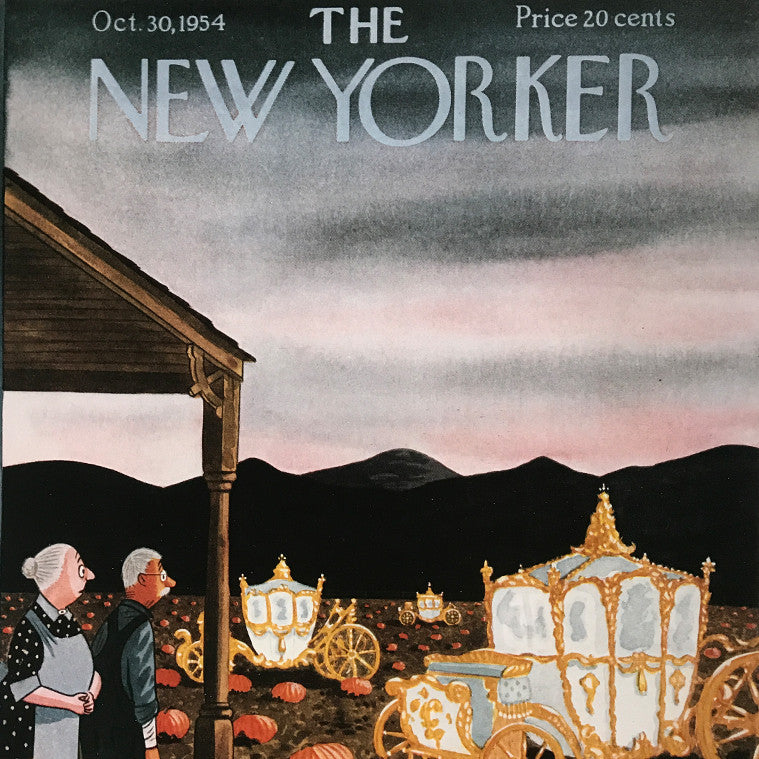 The New Yorker cover print created by Perry Barlow October 30 1954