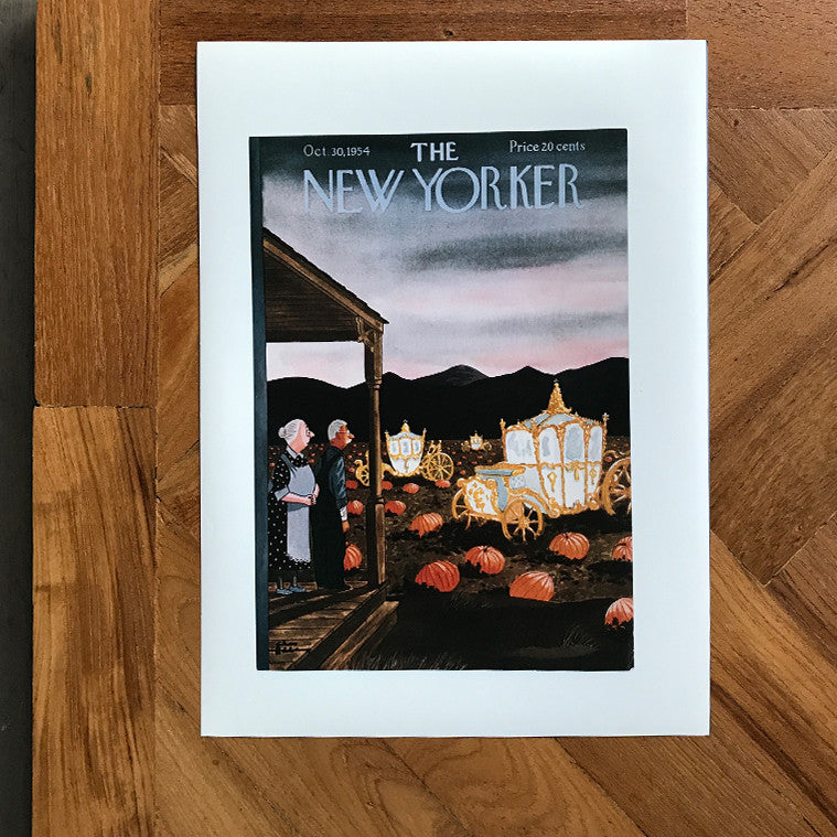 The New Yorker Cover Print October 1954