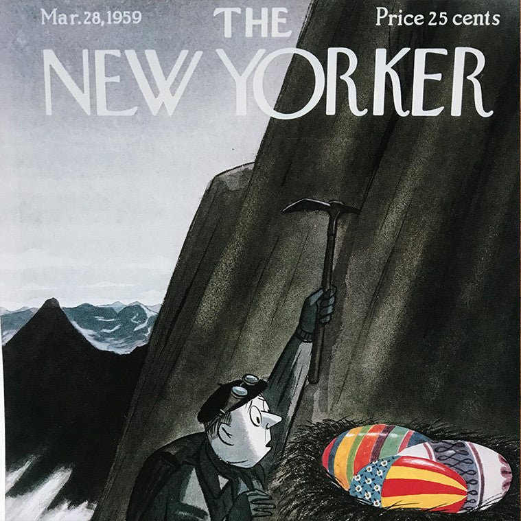 The New Yorker cover print created by Garrat Price March 28 1959