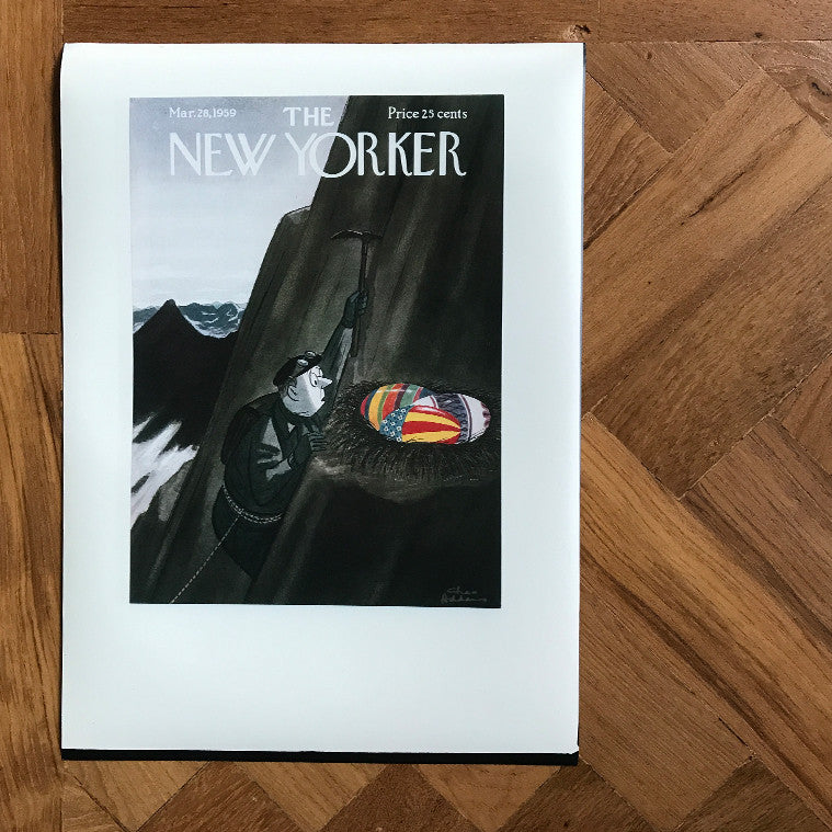 The New Yorker Cover Print March 1959