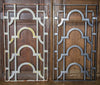 Antique Art Deco Cast Iron Grills