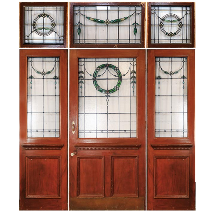 Edwardian Door with Fanlight - architectural-forum