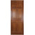 Reclaimed Mahogany Georgian Style Door - 197cm x 75.5cm - architectural-forum