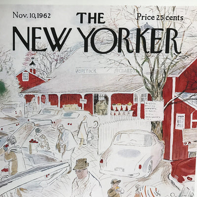 The New Yorker cover print created by Garrat Price Nov 10 1962