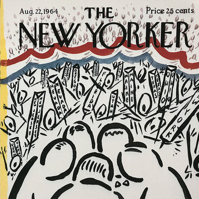 The New Yorker Cover Print August 1964