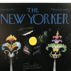 The New Yorker Cover Print January 1965