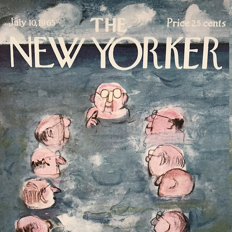 The New Yorker cover print created by Andre Francois July 10 1965