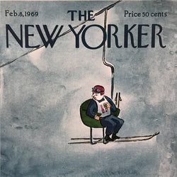 The New Yorker Cover Print February 8 1969