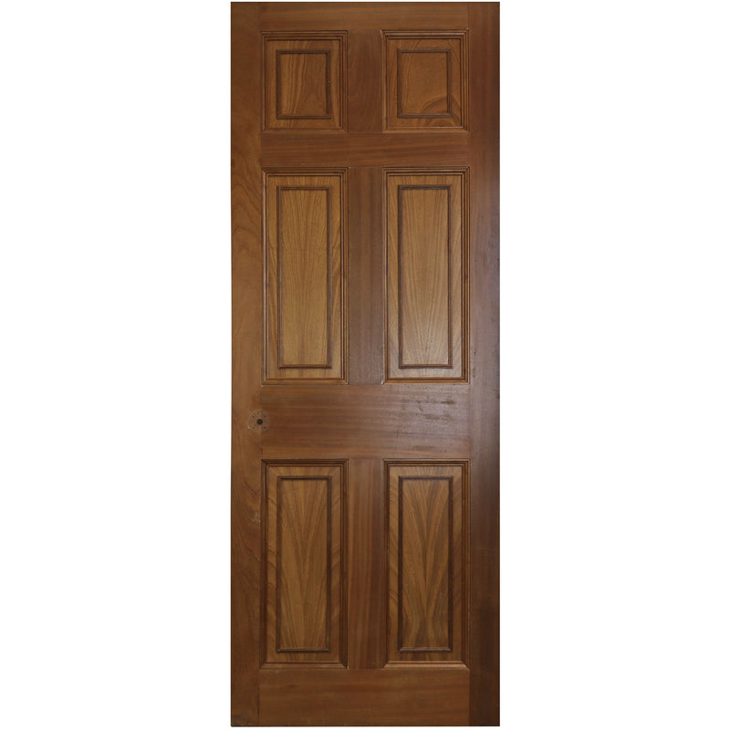 solid panelled internal door