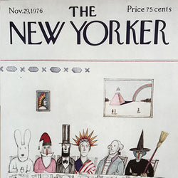 The New Yorker Cover Print November  1976
