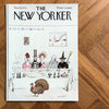 The New Yorker cover print created by Saul Steinberg  -November 29 1976