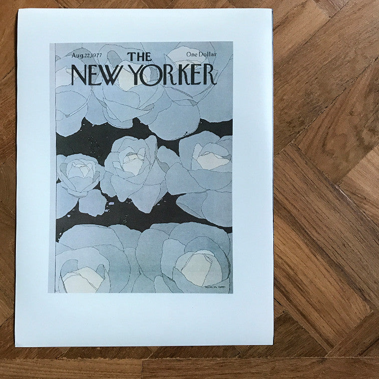The New Yorker Cover Print Feb 28 1970