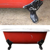 Cast Iron Roll Top Bath Tub - The Architectural Forum