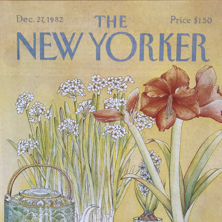 The New Yorker Cover Print December 1982