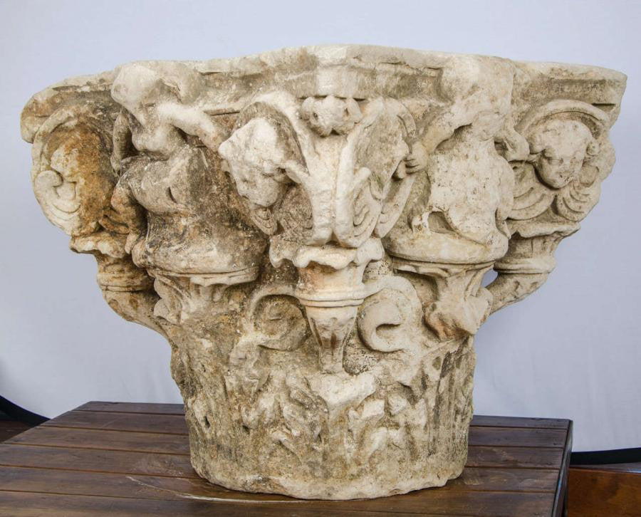 Antique Corinthian Capitals - The Architectural Forum