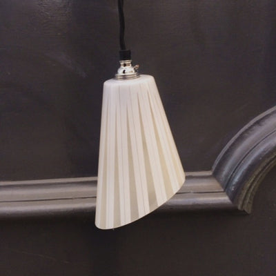 Antique Art Deco Pendant Light Shades - The Architectural Forum