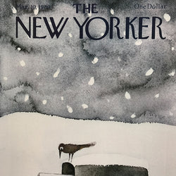 The New Yorker Cover Print March 1980