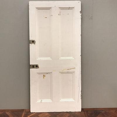 Victorian Four Panel Door - 208cm x 87.5cm x 4.5cm - architectural-forum