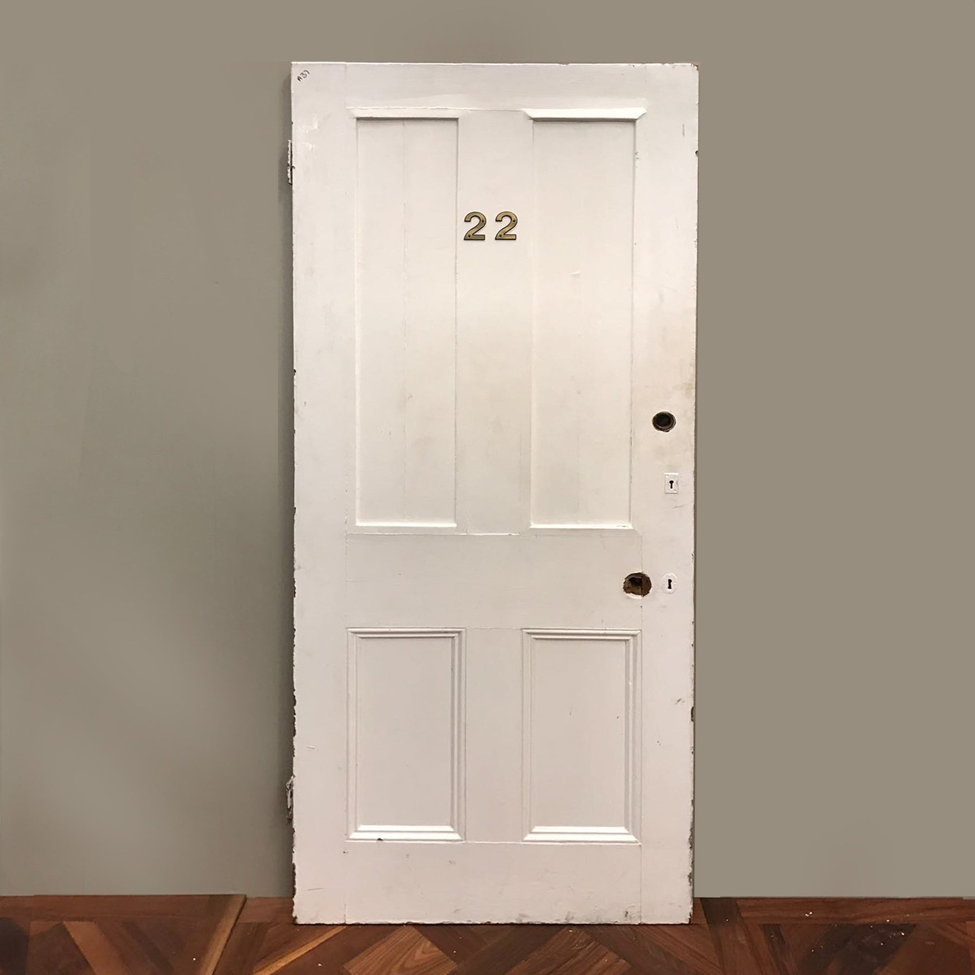 Victorian Four Panel Door - 200cm x 80.5cm - architectural-forum