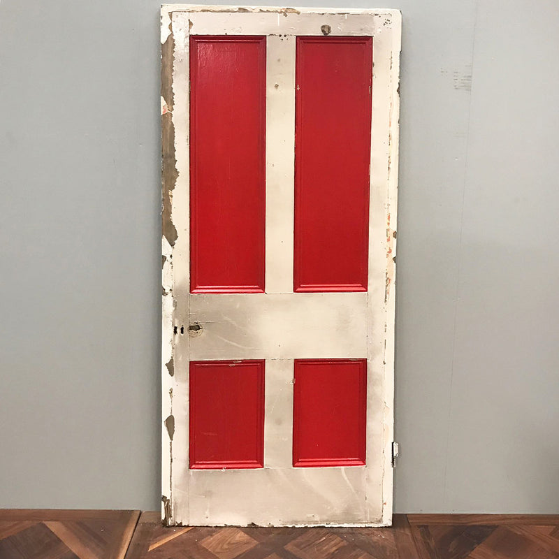 Victorian solid wood door