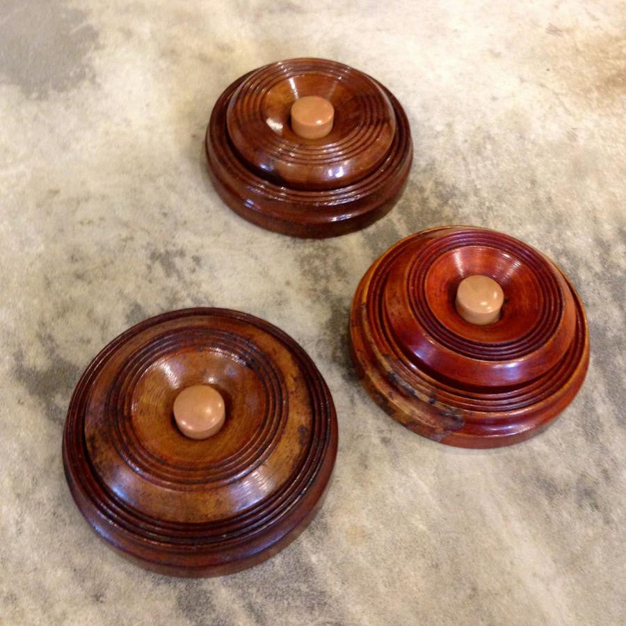 Antique Wooden Door Bells - The Architectural Forum