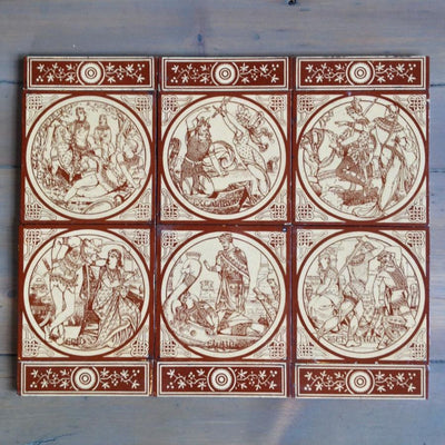 Original Antique Minton Tiles by John Moyr Smith - architectural-forum