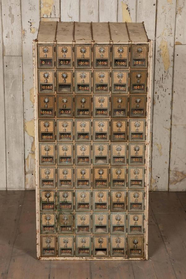 Genuine Antique USA Post Office Mailboxes | The Architectural Forum