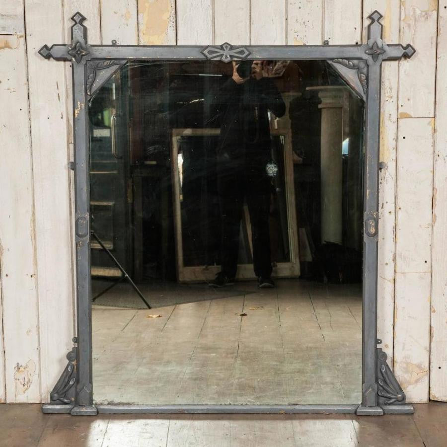 Antique Victorian Arts & Crafts Mirror - The Architectural Forum