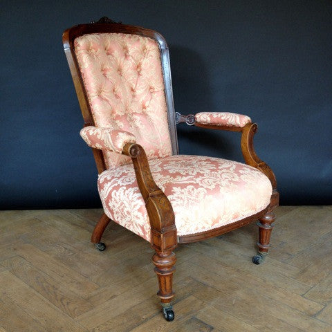 Antique Victorian Armchair | The Architectural Forum