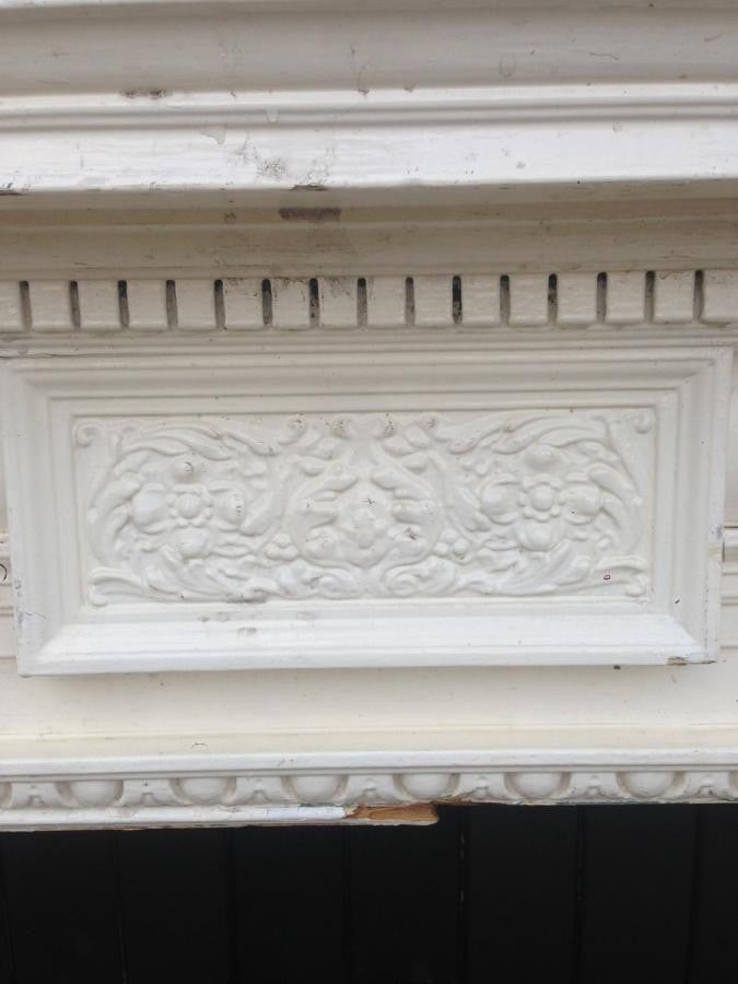 Antique Victorian Wooden Fireplace Surround | The Architectural Forum