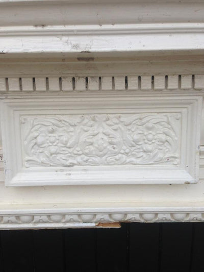Antique Victorian Wooden Fireplace Surround - The Architectural Forum